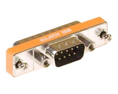 Microconnect Adapter 9-pin D-Sub (DB-9) Hann 25-pin D-Sub (DB-25) Hann Oransje