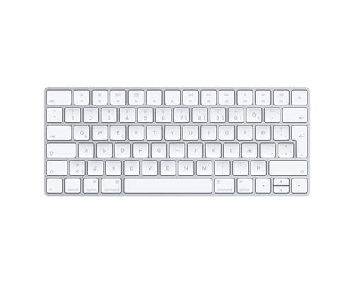 Apple Magic Keyboard Langaton Näppäimistö Norja Hopea, Valkoinen
