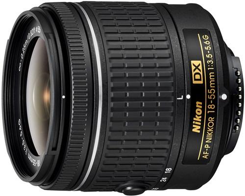 Nikon Af-p Dx 18-55/3,5-5,6 G