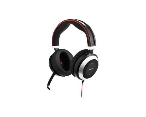 Jabra Evolve 80 Uc Stereo Svart