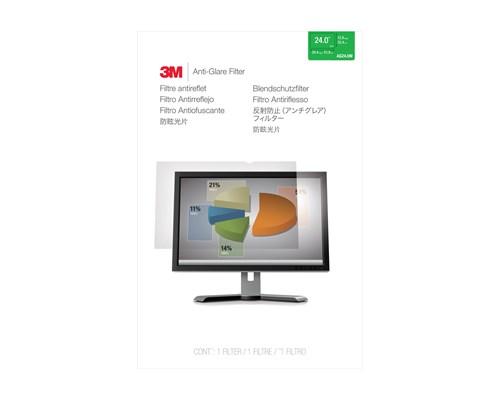3m Anti-glare Skyddsfilter Till Widescreen-skärm 24 Tum (16:10) 24