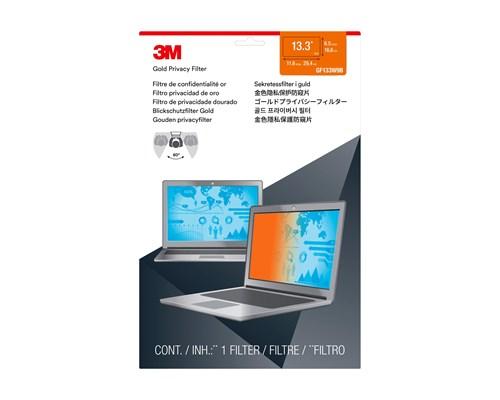 3m Guld Sekretessfilter Till Bärbar Dator Med Widescreen 13,3 Tum 13.3