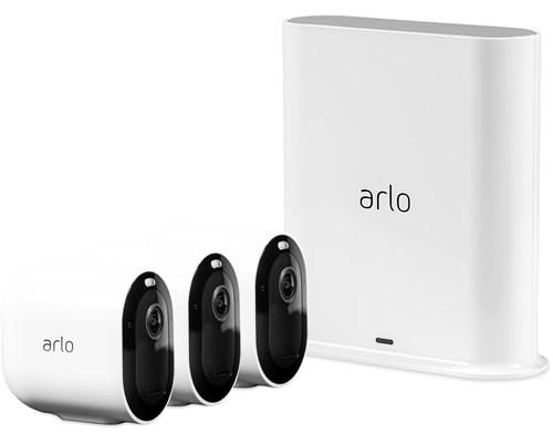 Arlo Pro 3 Vms4340p Basstation Och 3 Kameror