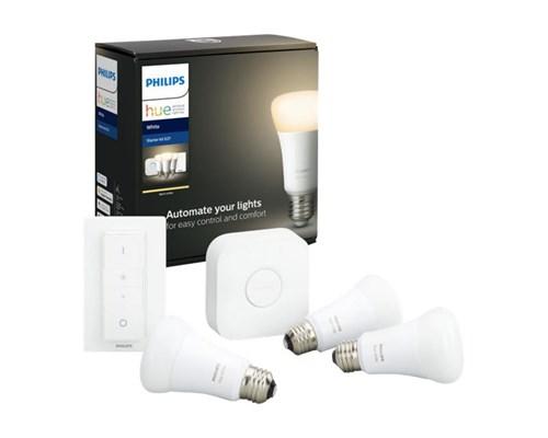 Philips Hue Startkit White 3xe27 + Wireless Dimmer