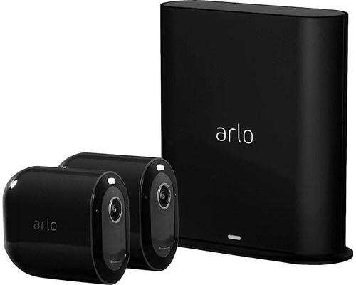 Arlo Arlo Pro 3 Vms4240p Basstation Och 2 Kameror