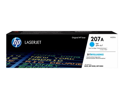 HP Toner Cyan 207A 1250 Pages