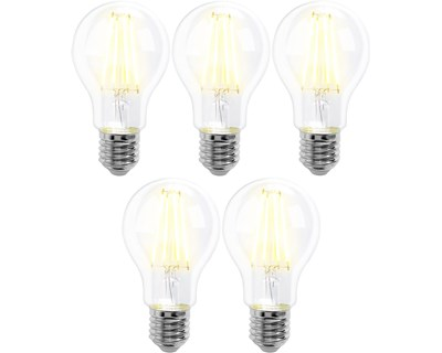 Prokord Smart Home Bulb E27 7W Warmwhite 5-Pack