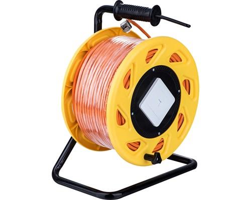 Prokord Nätverkskabelvinda Lszh Rj-45 Rj-45 Cat 6 80m Orange