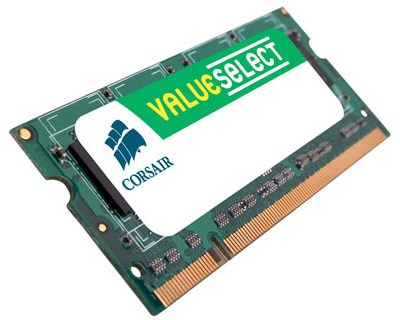 Corsair Value Select 16GB 1,333MHz DDR3 SDRAM SO DIMM 204-pin