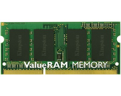 Kingston Valueram 8GB 1,333MHz DDR3 SDRAM SO DIMM 204-pin
