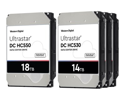 "WD Ultrastar DC HC550 18TB 3.5"" Serial Attached SCSI 3"