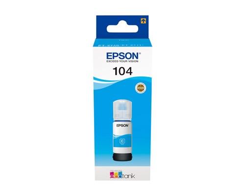 Epson Bläck Cyan 70ml 104 - Et-2710/2720/4750