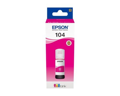 Epson Bläck Magenta 70ml 104 - Et-2710/2720/4750