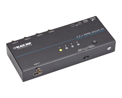 Black Box 4K HDMI Switch 4 x 1
