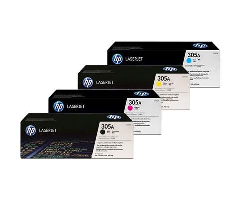 Hp Toner Rainbow Kit Lj Pro 400/300