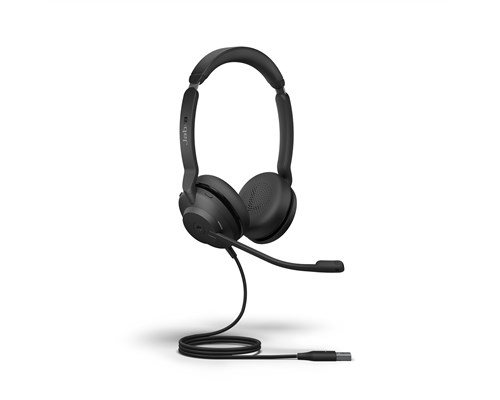 Jabra Evolve2 30 Usb-a Ms Stereo Headset Svart