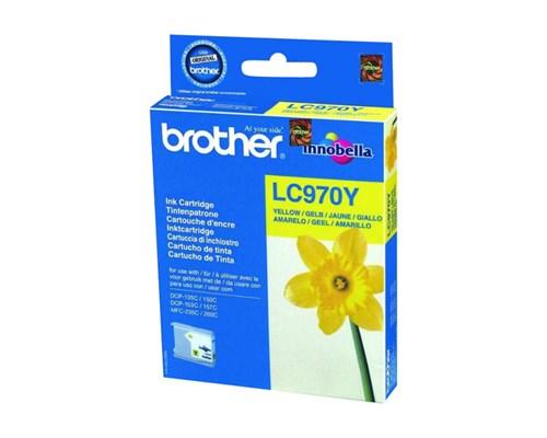 Brother Bläck Gul Lc970y - Dcp-135c/150c