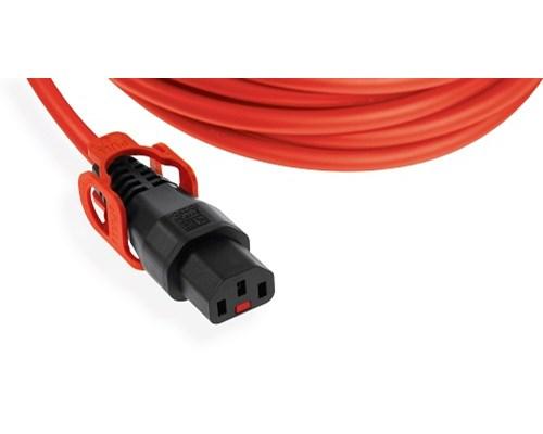 Direktronik Strömkabel Med Lås 1m Ström Iec 60320 C14 Ström Iec 60320 C13