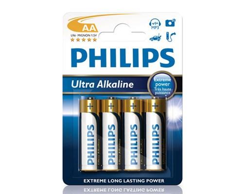 Philips Extremelife+ Ultra Batteri Alkaline 4st Aa/lr06