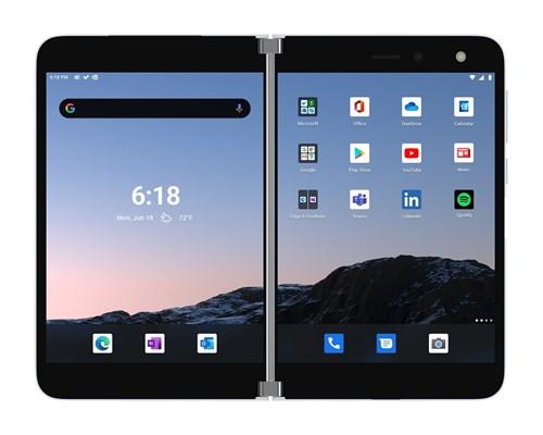 Microsoft Surface Duo 256gb Dual-sim Glaciär