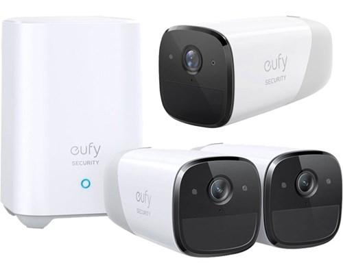 Anker Eufy Eufycam 2 Pro 2-pack + Base Station + Extra 1080p Camera (not Pro)