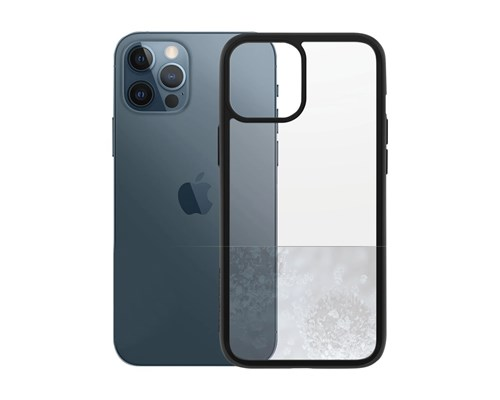 Panzerglass Clearcase Iphone 12 Pro Max Klar, Svart