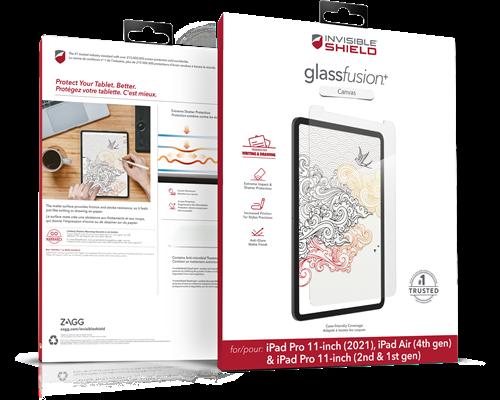 Zagg Glassfusion+ Canvas Ipad Air 10.9