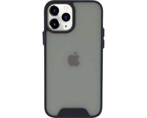 Cirafon Fusion Case For Iphone 12/12 Pro Transparent/black Iphone 12, Iphone 12 Pro Svart