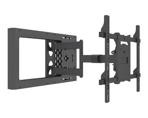 Multibrackets Hospitality Flexarm With Stb Enclosure Svart