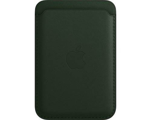 Apple Iphone-plånbok I Läder Med Magsafe Iphone 12, Iphone 12 Mini, Iphone 12 Pro, Iphone 12 Pro Max, Iphone 13, Iphone 13 Mini, Iphone 13 Pro, Iphone 13 Pro Max Grön