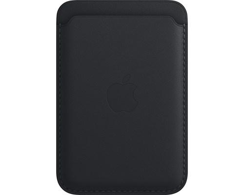 Apple Iphone-plånbok I Läder Med Magsafe Iphone 12, Iphone 12 Mini, Iphone 12 Pro, Iphone 12 Pro Max, Iphone 13, Iphone 13 Mini, Iphone 13 Pro, Iphone 13 Pro Max Midnatt