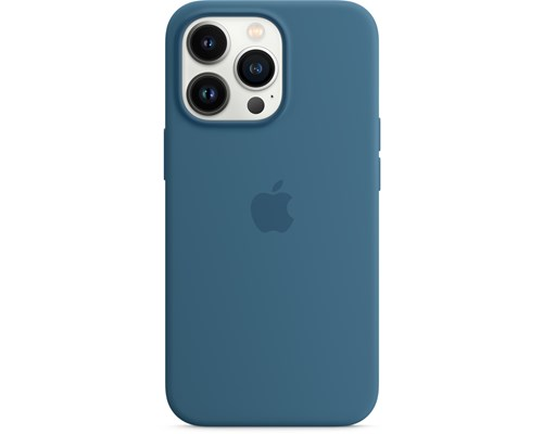 Apple Silicone Case With Magsafe Iphone 13 Pro Blåskrika