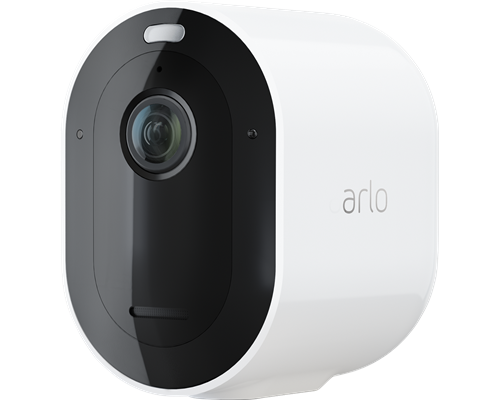 Arlo Pro 4 Trådlös Säkerhetskamera Vit 1-pack