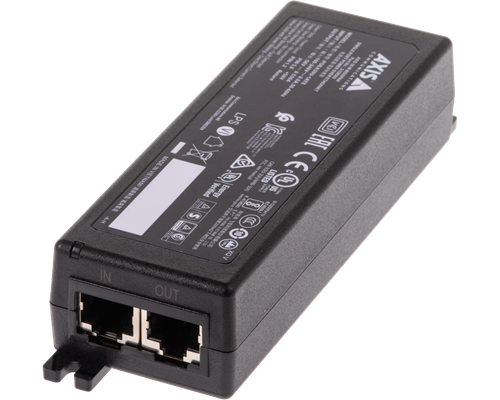 Axis Gigabit Poe Injector 30w 802.3at