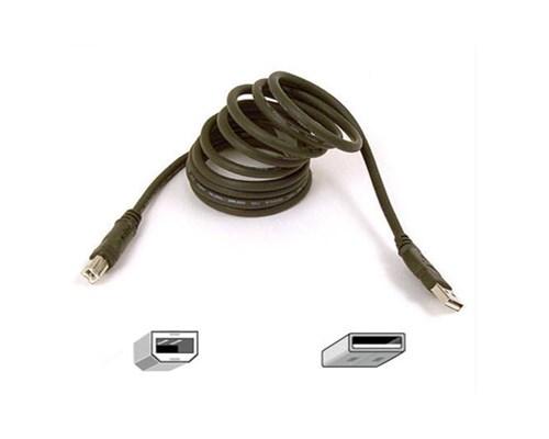 Belkin Pro Series Hi-speed Usb 2.0 Device Cable 3m 4-stifts Usb Typ A Hane 4-stifts Usb Typ B Hane