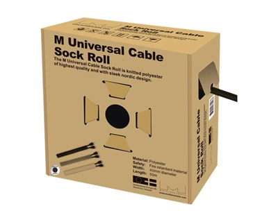 Multibrackets M Universal Cable Sock Roll 40 mm x 50 m