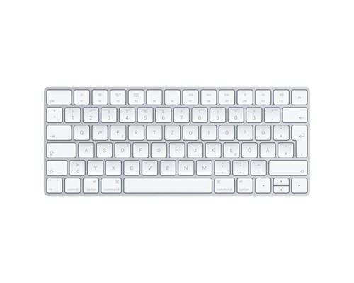 Apple Magic Keyboard Langaton Näppäimistö Saksa Hopea, Valkoinen