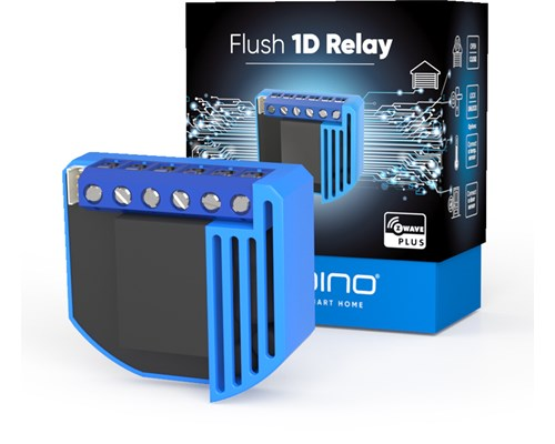Qubino Flush 1d Relay