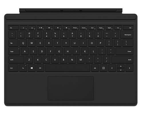 Microsoft Surface Pro Type Cover With Fingerprint Id Nordic