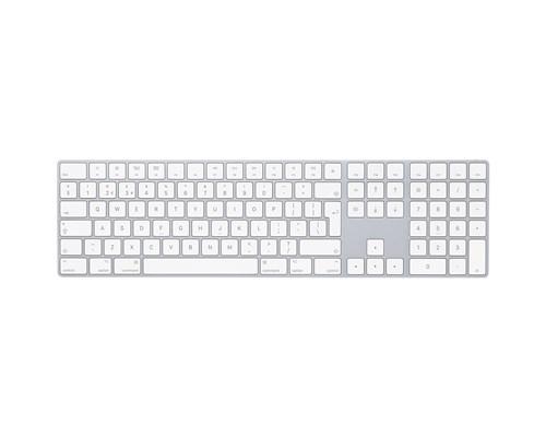 Apple Magic Keyboard With Numpad Langaton Näppäimistö Ruotsi Hopea, Valkoinen