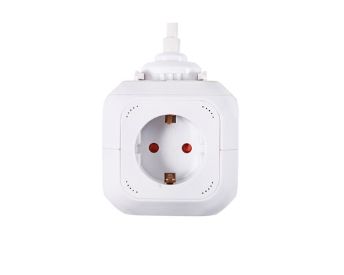 Prokord Power Cube 4x Socket + 2xusb 2.1 Mah 1.5m - White 4st 2 X 4 Pin Usb Type A, Ström Cee 7/4