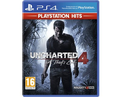 Sony Playstation Hits: Uncharted 4 A Thief's End Sony PlayStation 4