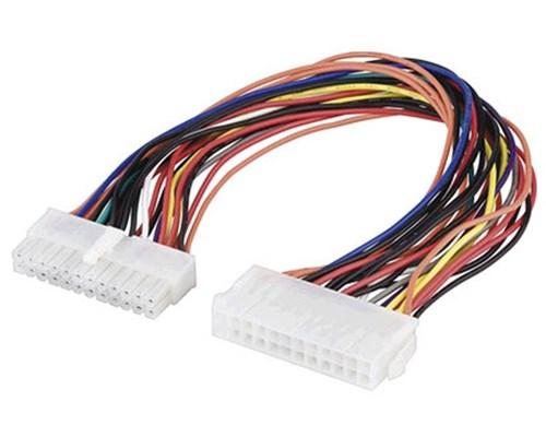 Microconnect Förlängningskabel För Ström 0.25m Ström, 24-pin Atx Hane Ström, 24-pin Atx Hona