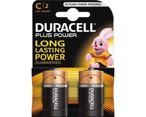 Duracell Plus Power C 2st