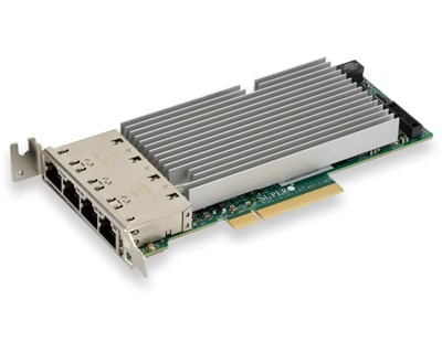 Supermicro AOC-STG-i4T 4-port 10 Gigabit Network Card