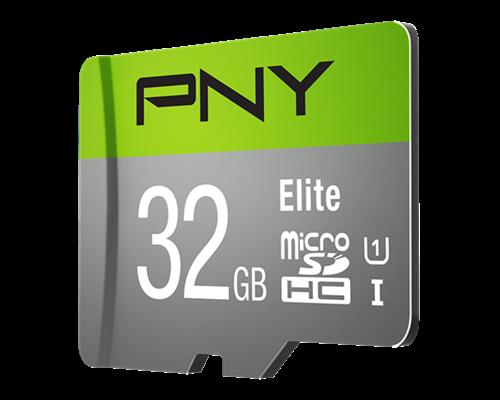 Pny Elite 32gb Microsdhc Uhs-i Minneskort