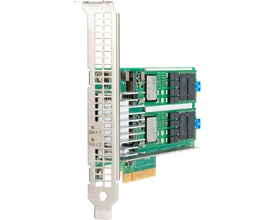 HPE NS204i-p NVMe RAID1 2x 480GB Boot Device PCIe-kort (HHHL) 480GB PCI Express x8 (NVMe)