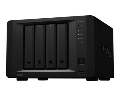 Synology Deep Learning NVR DVA3221