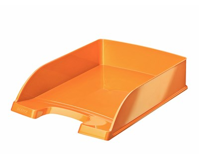 Leitz Letter Tray Wow A4 Orange 5-Pack