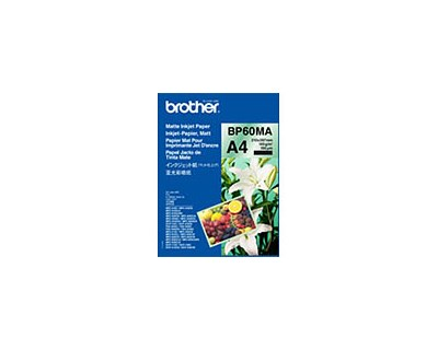 Brother Papper Photo Matt A4 25-Ark 145g